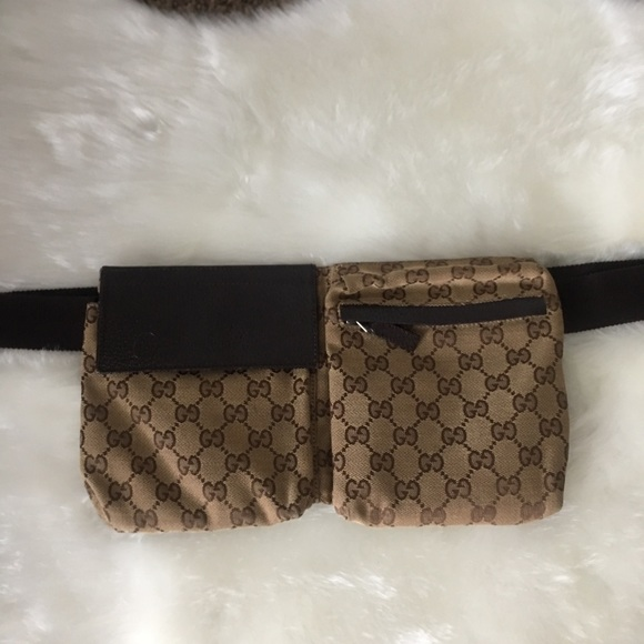 5e7231706742 Gucci Bags | Authentic Waist Pouch Fanny Pack Canvas Bag | Poshmark
